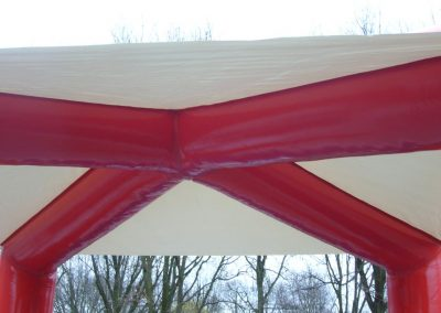 tent rood wit